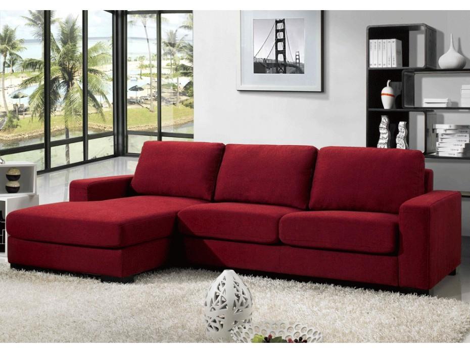 Ikea Canape Angle Rouge
