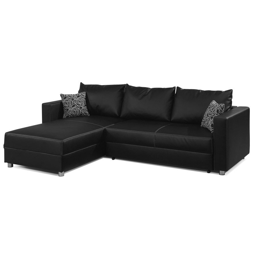 ikea canape cuir noir canap id es de d coration de. Black Bedroom Furniture Sets. Home Design Ideas