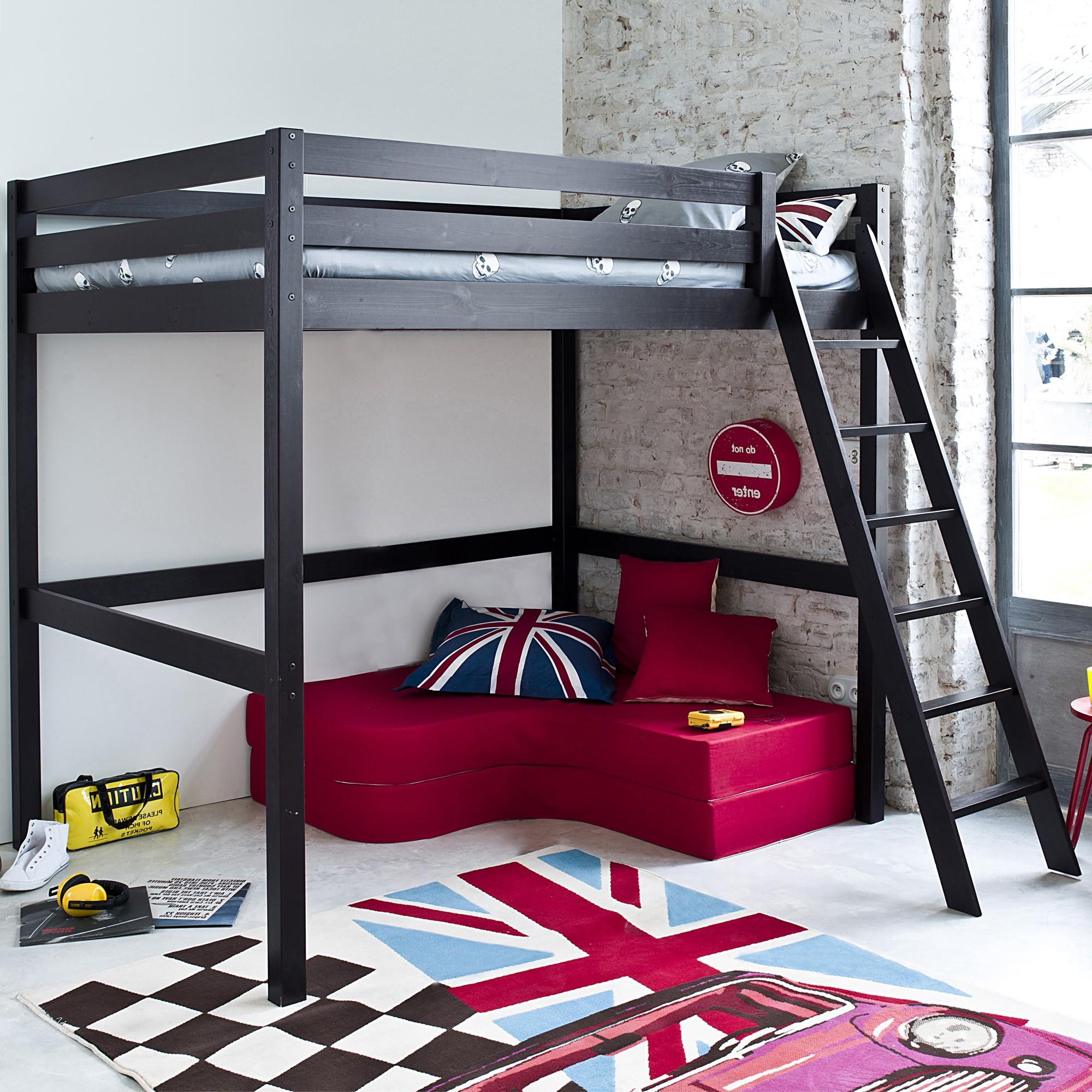 lit mezzanine ado ikea fashion designs. Black Bedroom Furniture Sets. Home Design Ideas