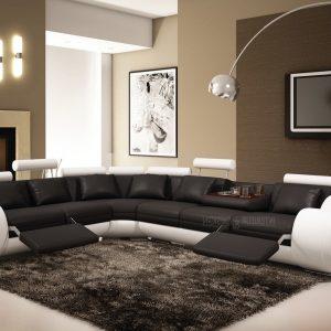 Canap lit cuir haut de gamme canap id es de for Salon haut de gamme