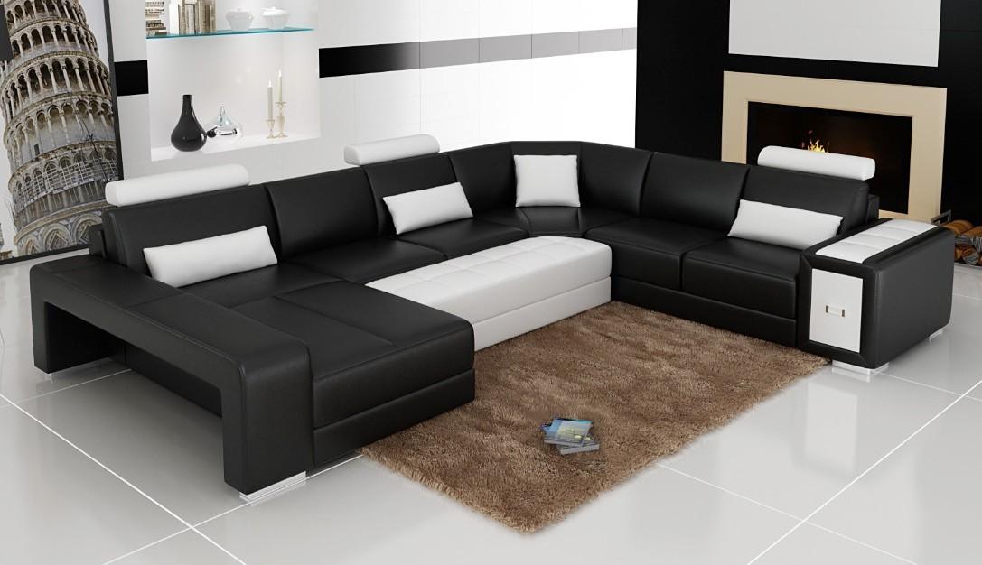 Canapé 2 Angles Cuir