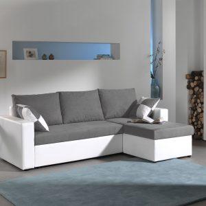 Canapé Angle Convertible Coffre De Rangement