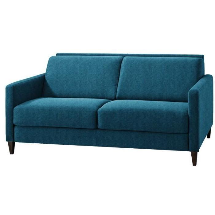 Canapé Convertible Bleu Turquoise