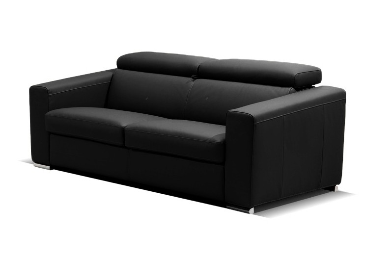 Canapé Convertible Cuir Luxe