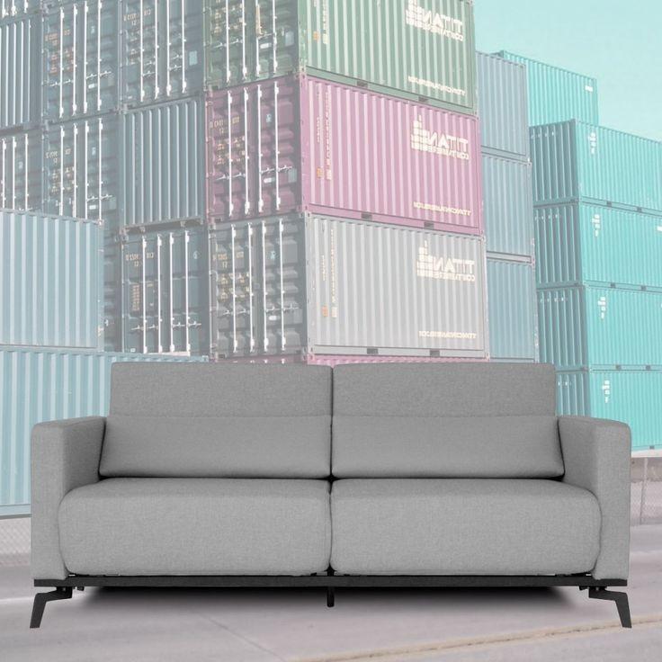 Canapé Convertible Design Rond