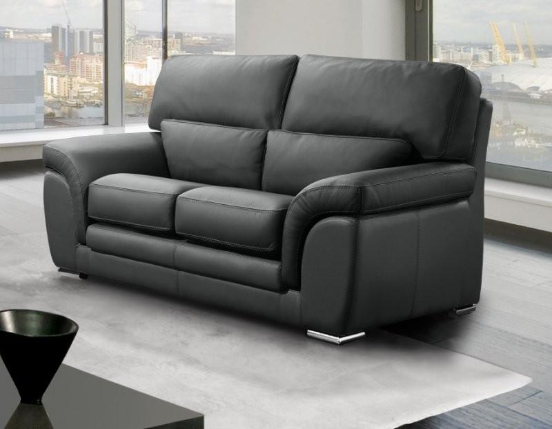 Canapé Convertible En Cuir 2 Places