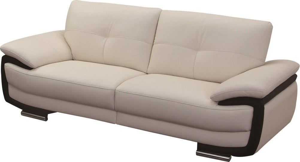 Canapé Convertible Simili Cuir 2 Places
