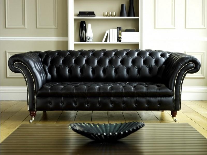 Canapé Cuir Chesterfield Design