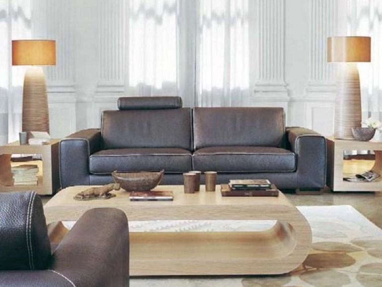 Canapé Cuir Relaxation électrique Roche Bobois