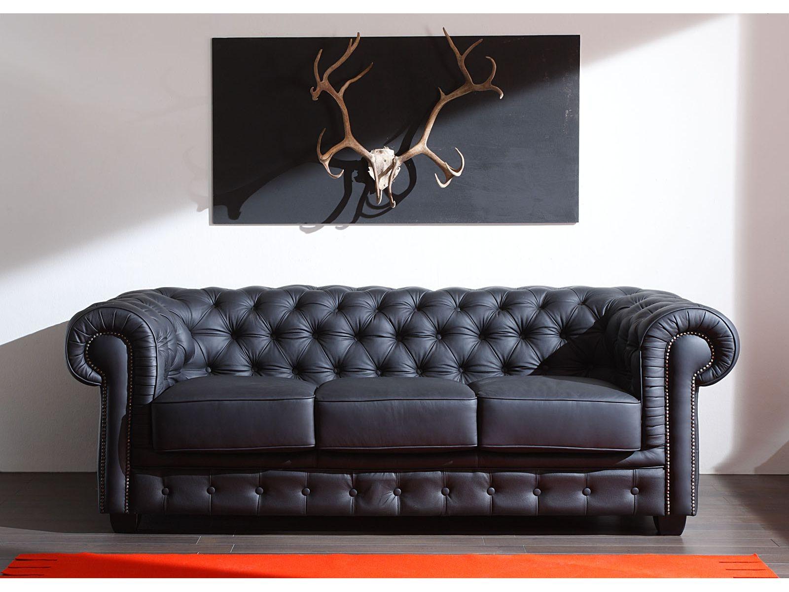 Canapé Cuir Style Anglais