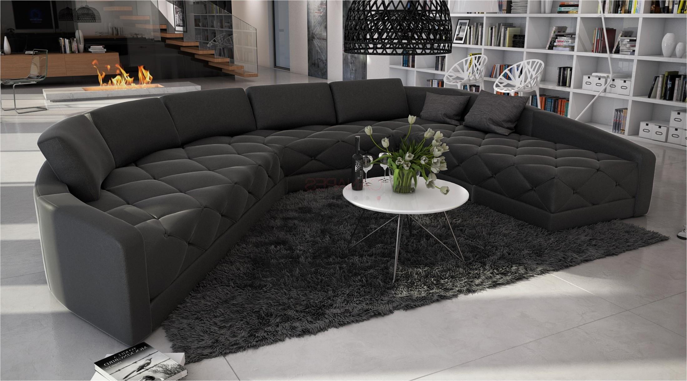 Canapé D'angle Alcantara Beige