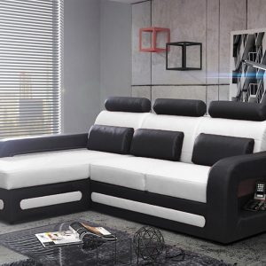 Canapé D'angle Convertible Avec Rangement