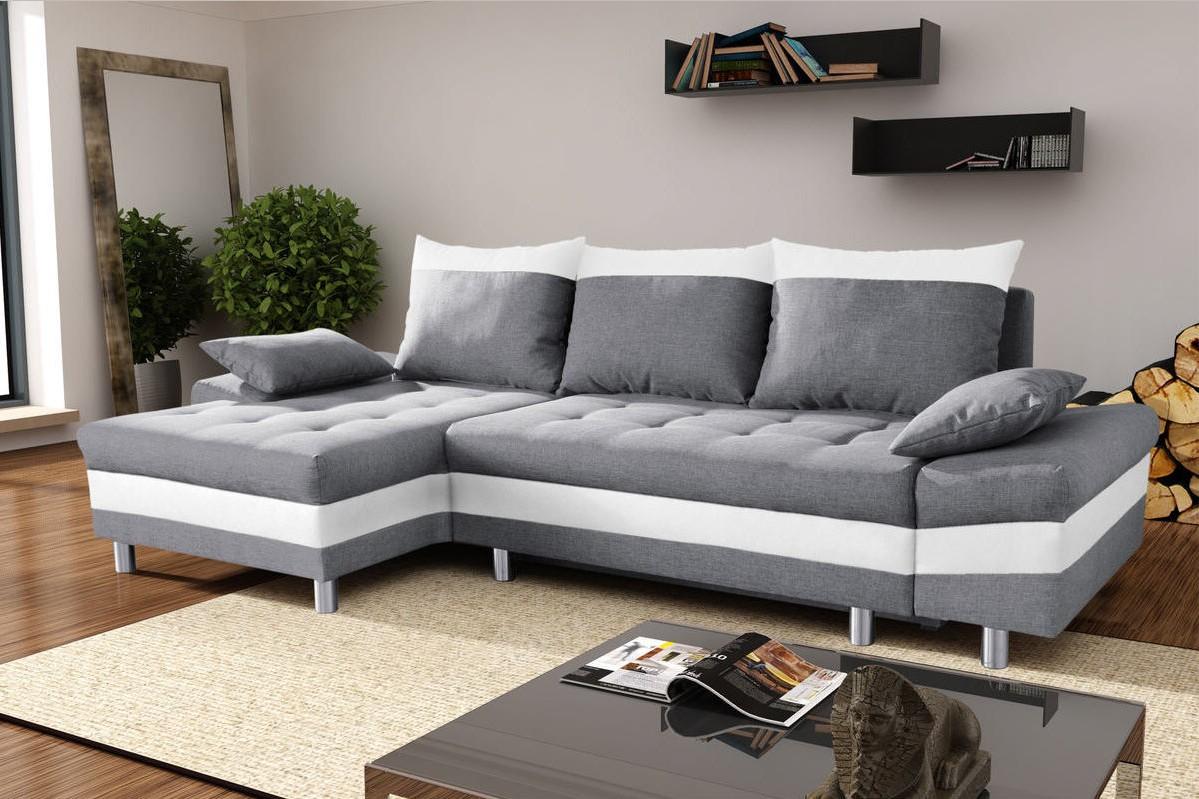 Canapé D'angle Convertible Design Massimo