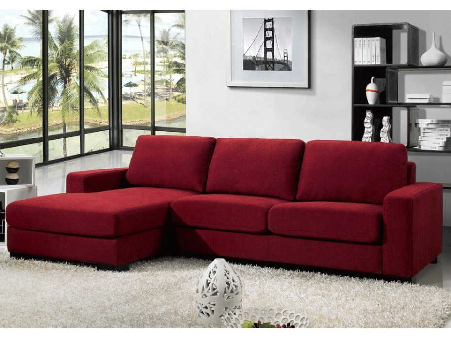 Canapé D'angle Convertible Rouge Ikea