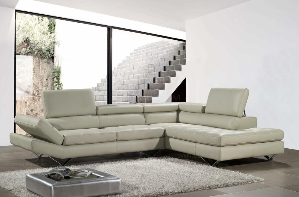 Canapé D'angle Cuir Blanc Design