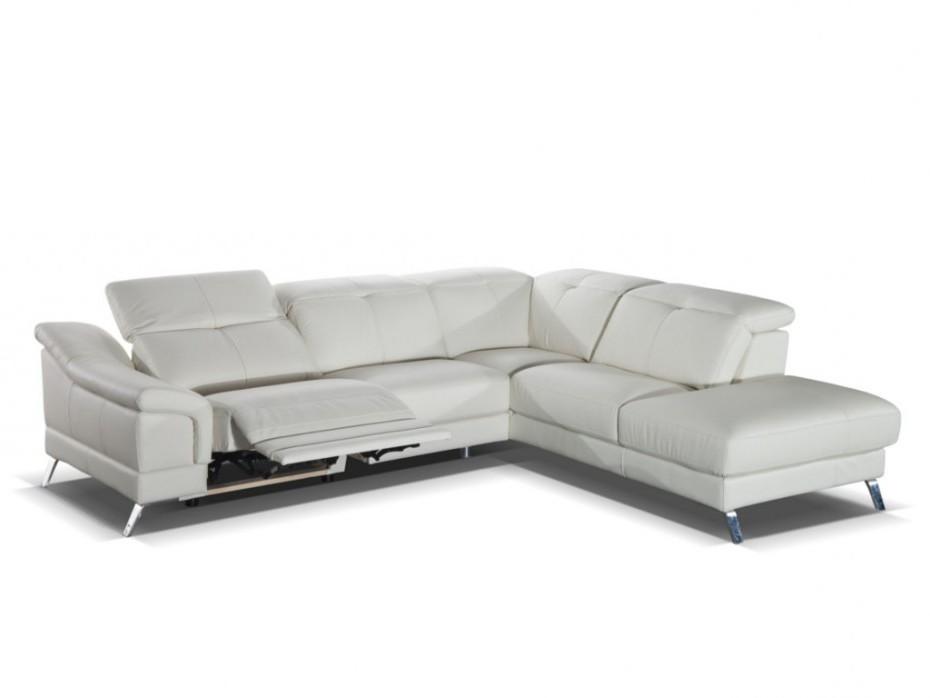 Canapé D'angle Relaxation Cuir