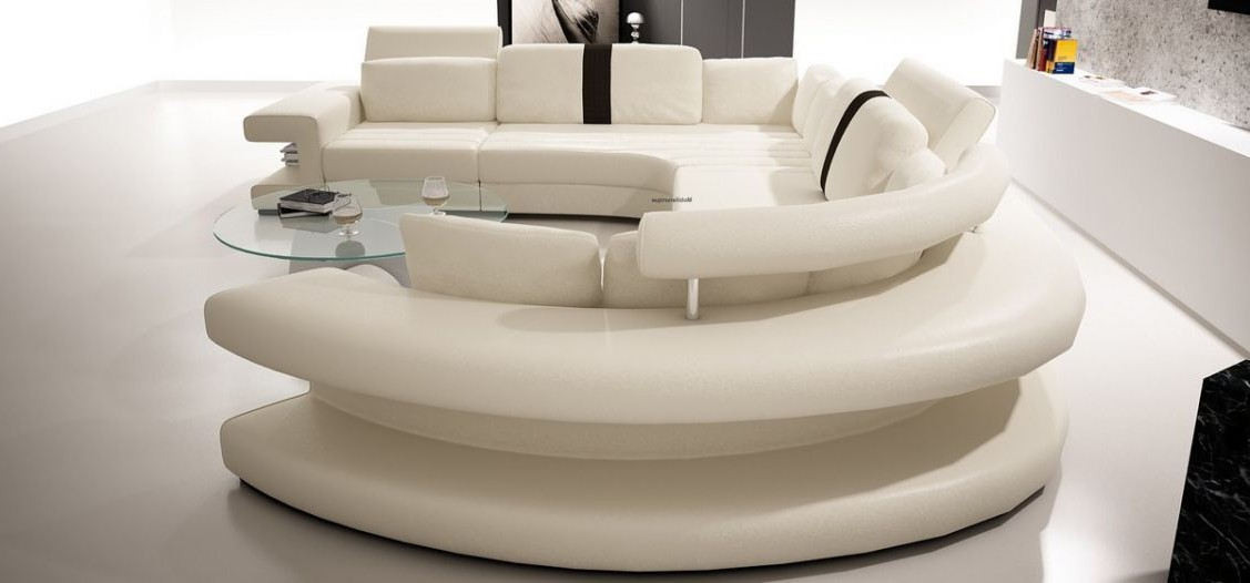 Canapé D'angle Rond Design