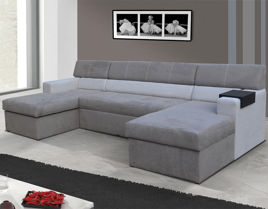Canapé Double Angle Convertible