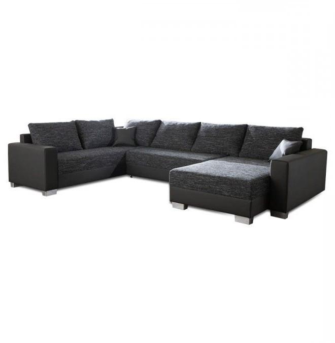 Canapé En U Simili Cuir
