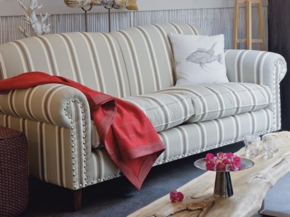 Canapé Style Anglais Fleuri