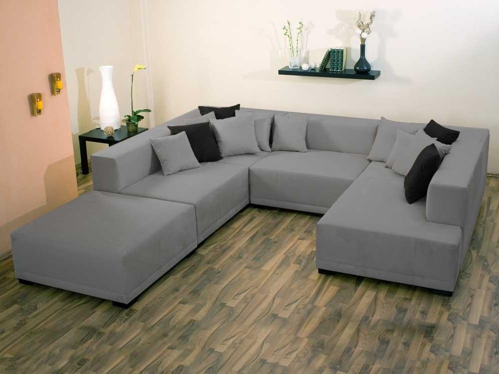 Canape Angle 7 Places Tissu Canapé Idées de Décoration de Maison