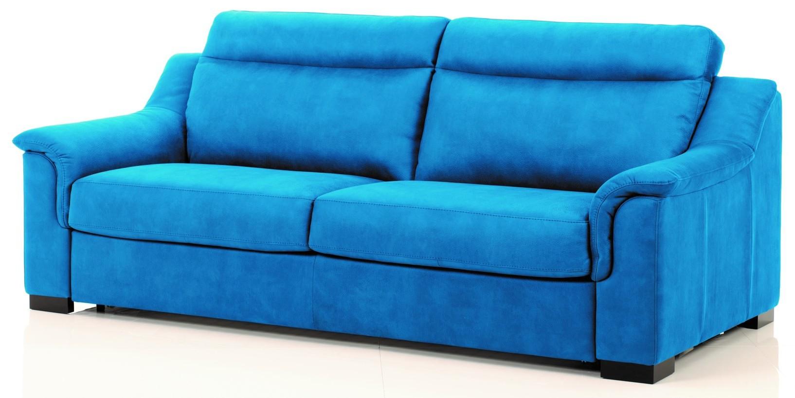 Canape Cuir Bleu Canard