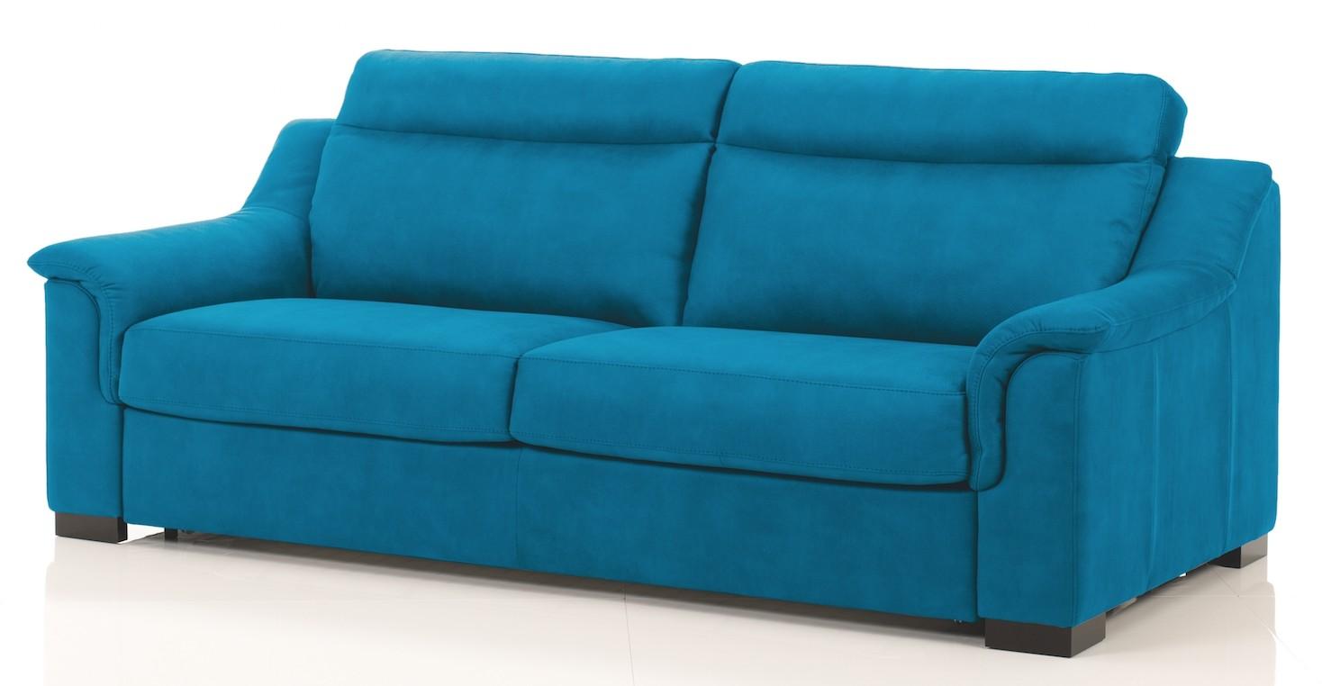 Canape Cuir Bleu Clair