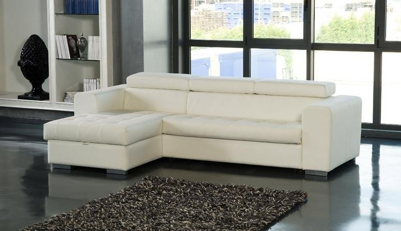 Canape Cuir Meridienne Convertible