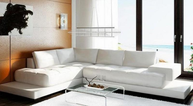 Canape D Angle Cuir Moderne