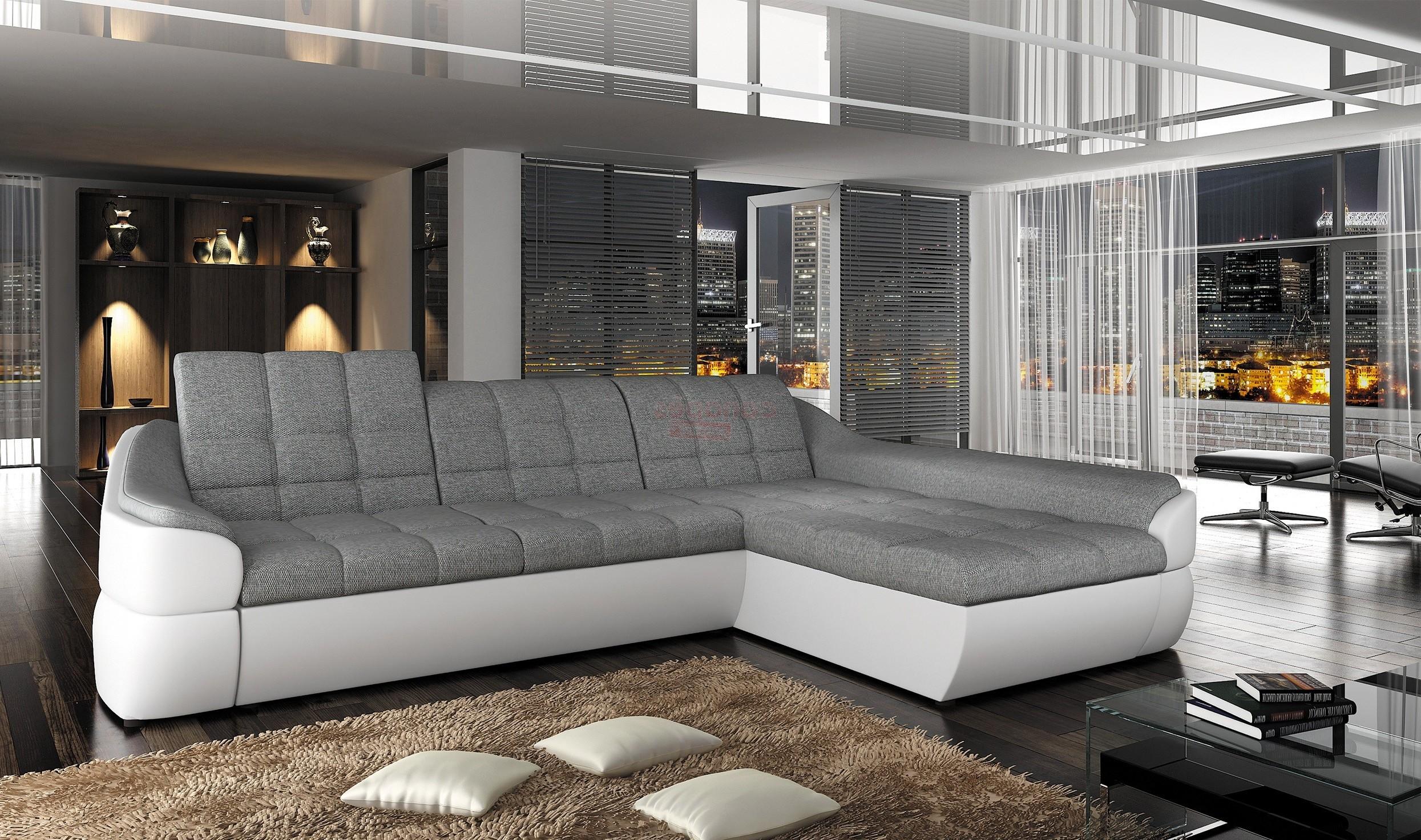 Grand Canape Angle Tissu Canapé Idées de Décoration de Maison