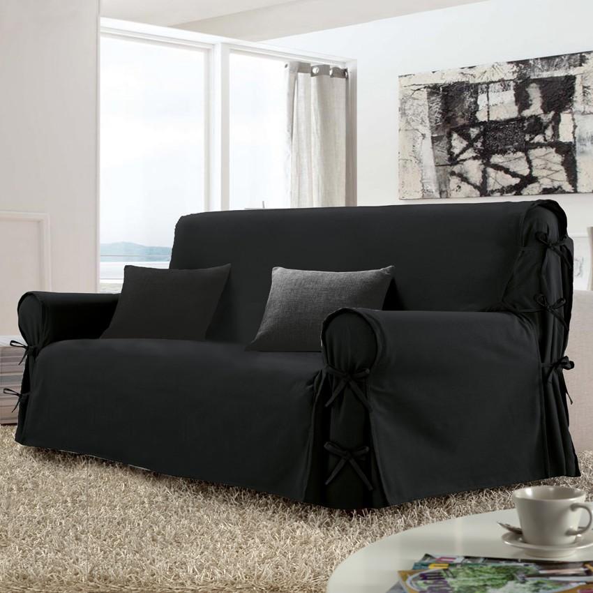 House De Canape Noir