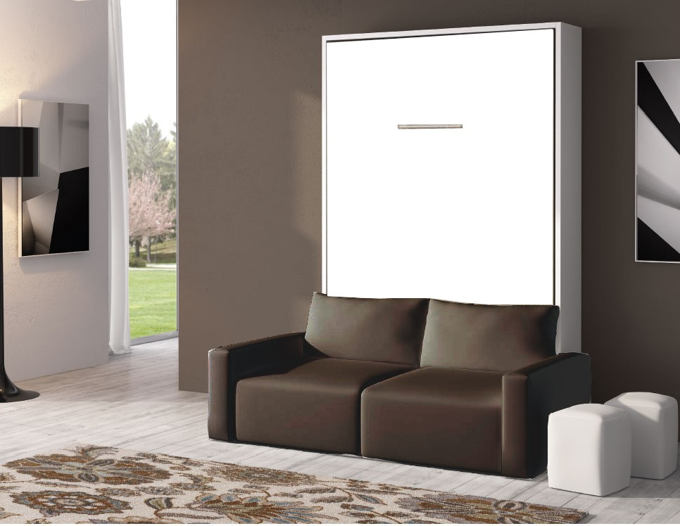 armoire lit escamotable avec canape canap id es de. Black Bedroom Furniture Sets. Home Design Ideas