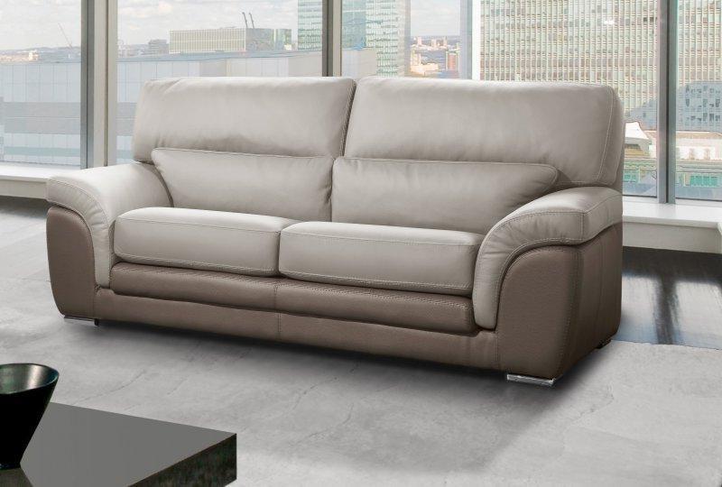 canapé 2 places cuir center - canapé : idées de décoration de