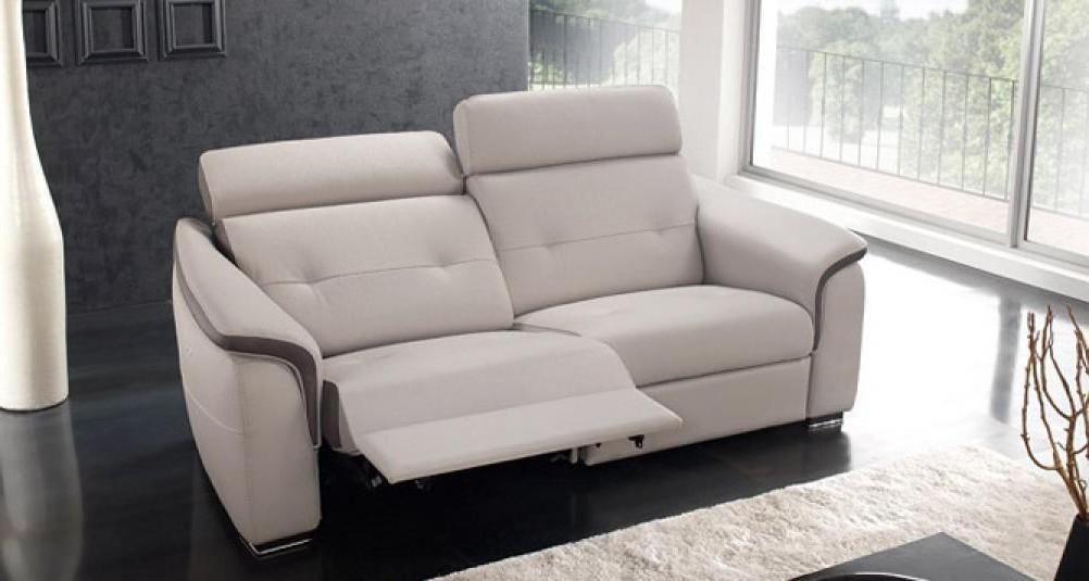 Canapé 2 Places Relax électrique Cuir Arena