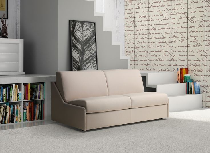 Canapé Convertible Design 3 Places Gris Clair Elin