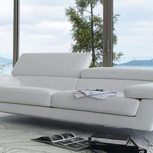Canape d 39 angle en cuir blanc roche bobois canap id es for Roche bobois canape cuir