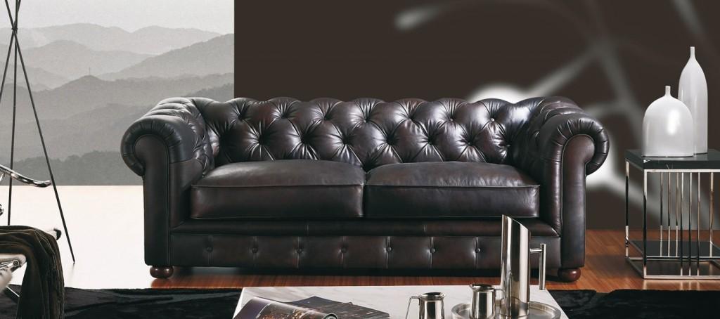 Canapé Cuir Style Ancien