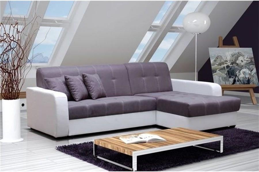 Canapé D'angle Convertible + Coffre De Rangement Pacific