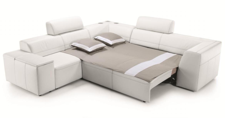 Canapé D'angle Cuir Convertible