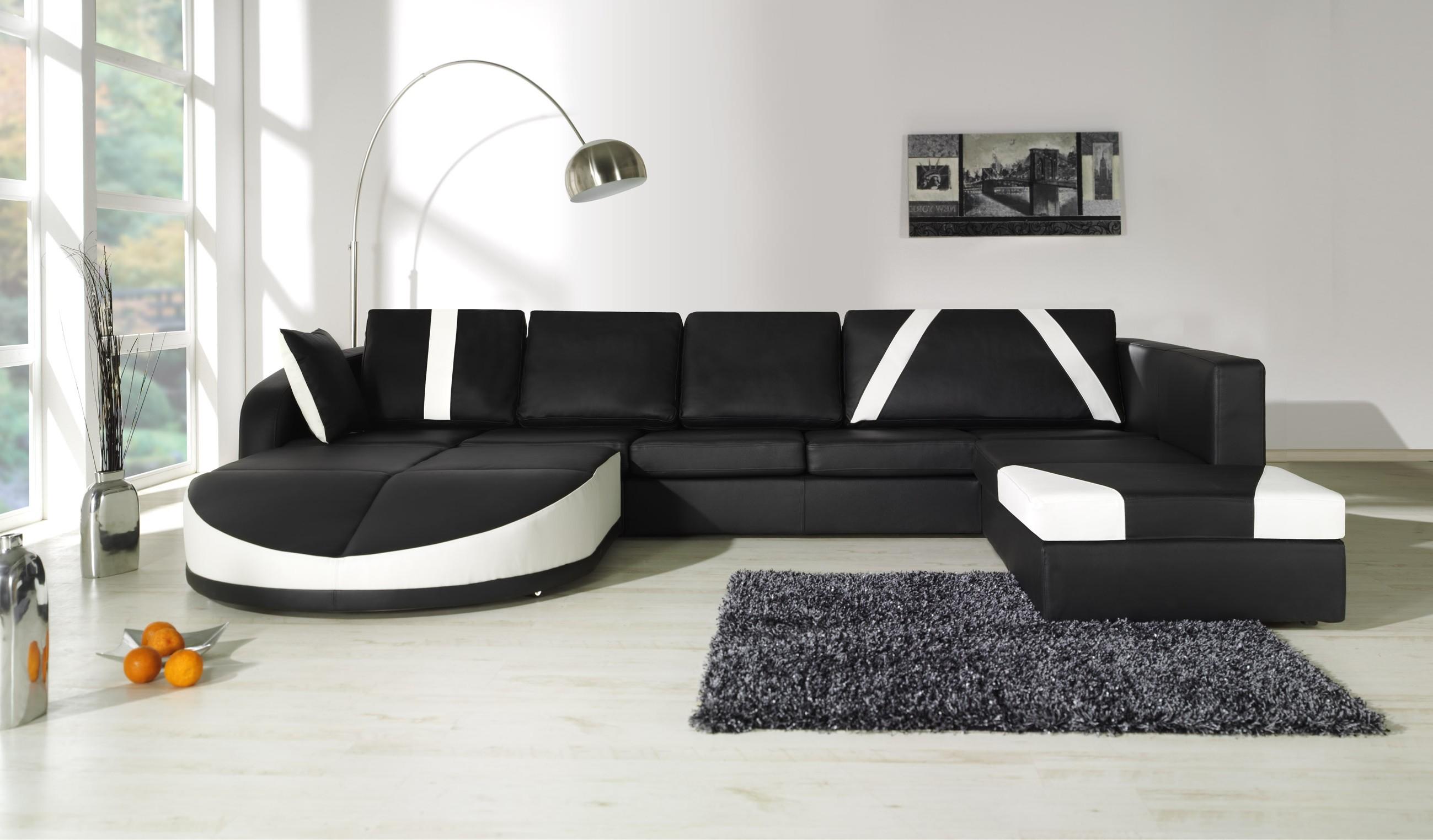 Canapé D'angle Cuir Design