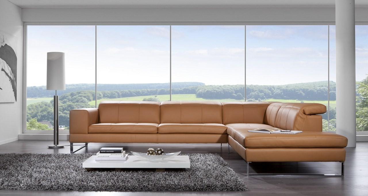 Canapé D'angle Cuir Italien Design