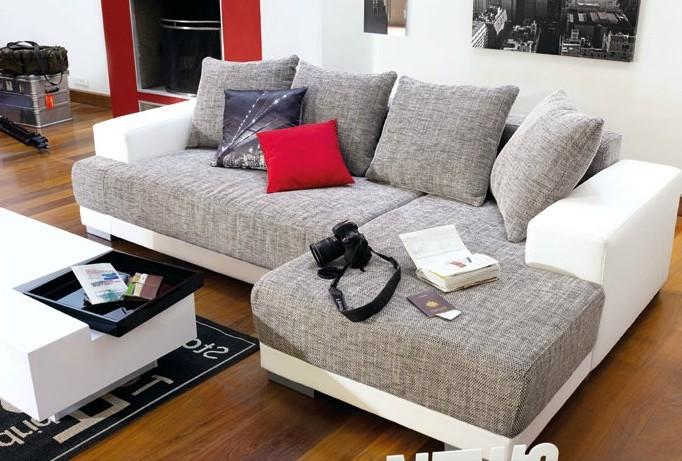 Canapé D'angle Cuir Marron Conforama