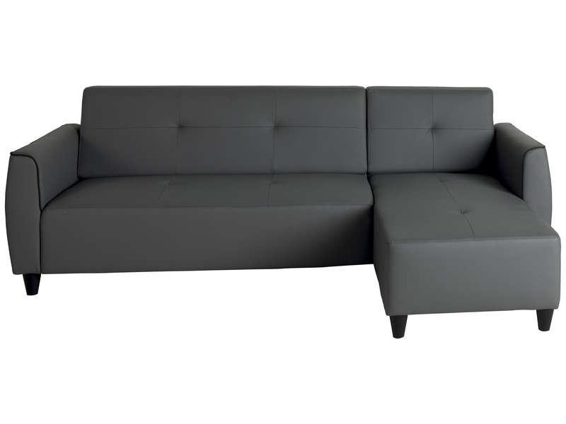 Canapé D'angle En Cuir Conforama