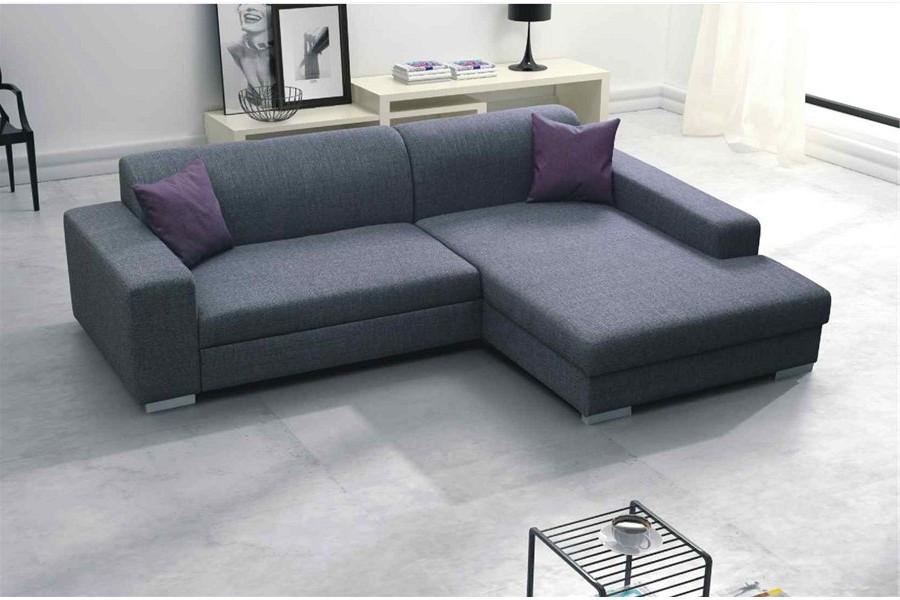 Canapé D'angle En Tissus Design