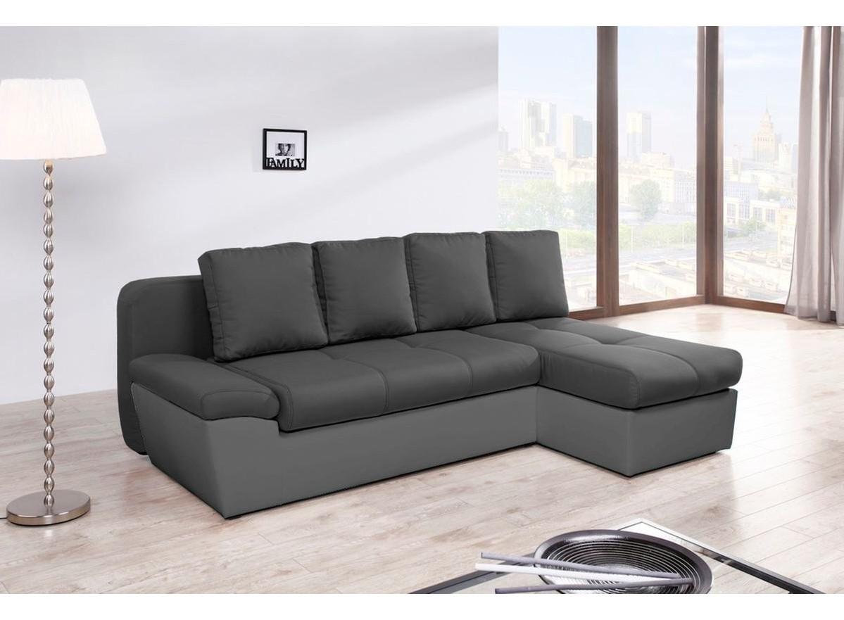 Canapé D'angle Fixe Droit Ou Gauche Loft Relaxima
