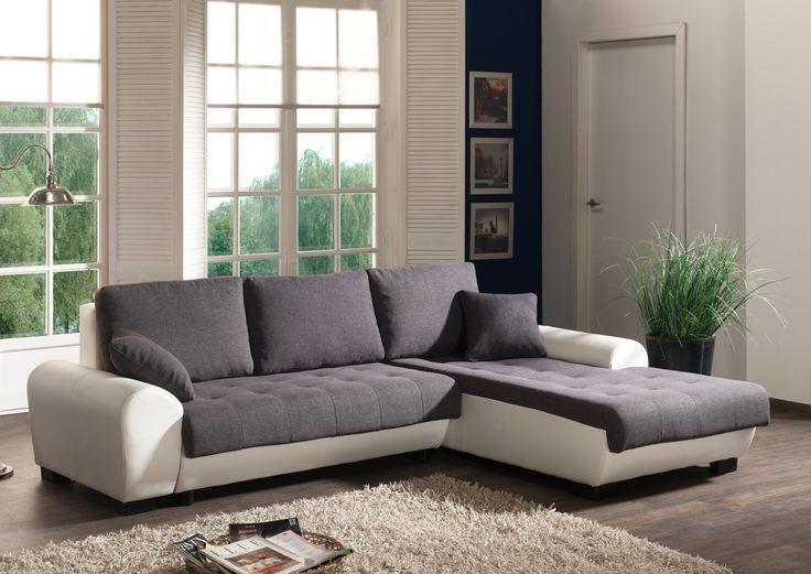 Canapé De Relaxation 2 Ou 3 Places En Microfibre Allegro
