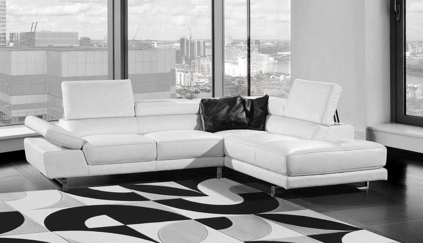 Canapé En Cuir Blanc Design