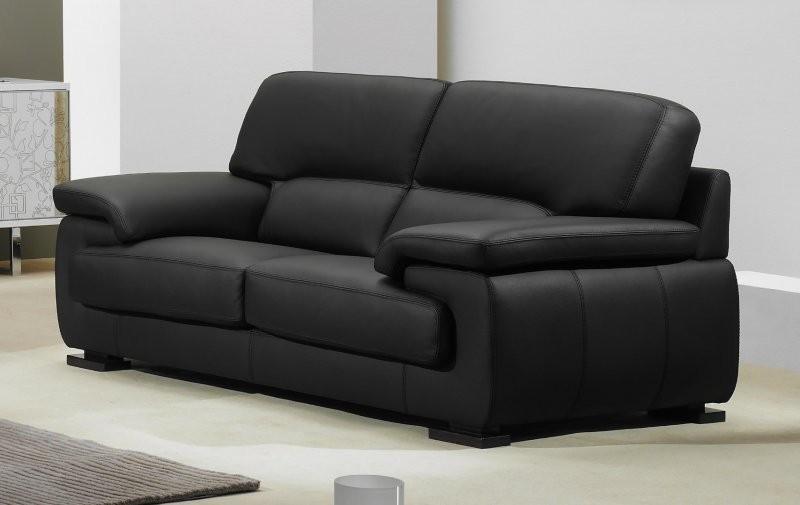 Canapé En Cuir Convertible 2 Places