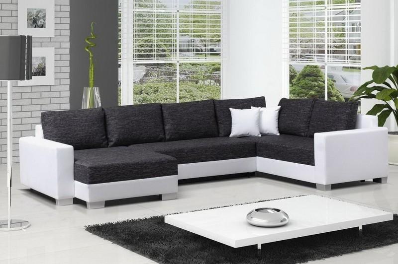 Canapé En Cuir Gris Anthracite