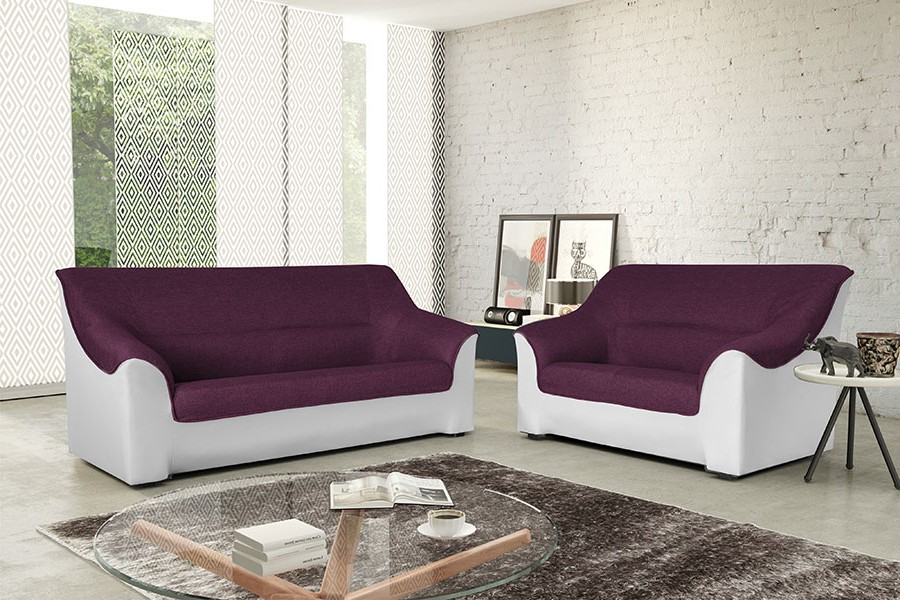 canap fixe cuir center canap id es de d coration de maison wydj8yznrq. Black Bedroom Furniture Sets. Home Design Ideas